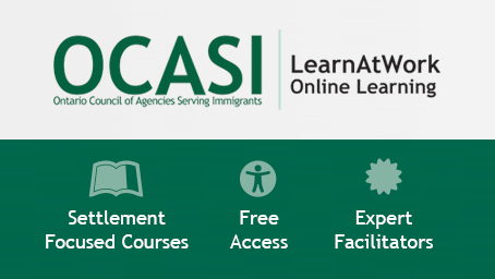 Banner of the the E-learning courses