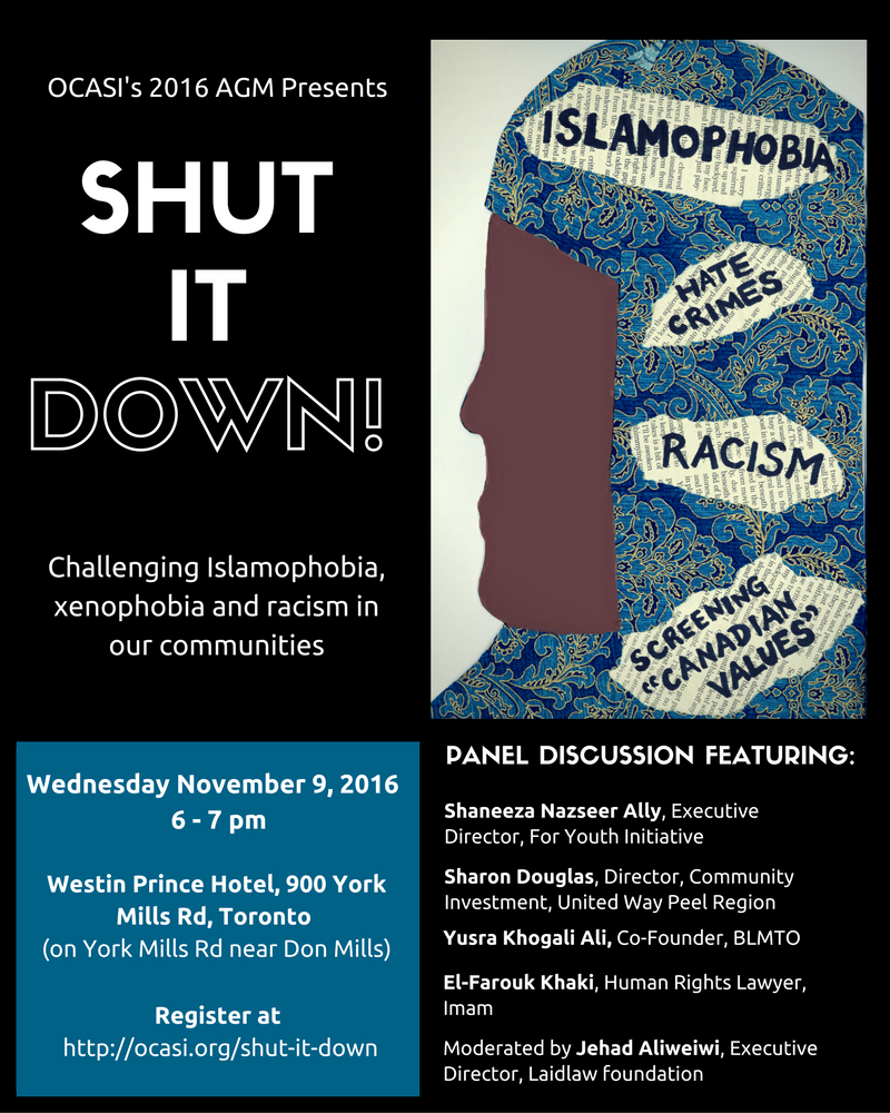Flyer of Shut It Down